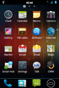 Install ICS Android 4 0 on Galaxy Ace S5830 : The Myth